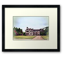 Athelhampton- The Haunted House Framed Print