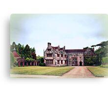 Athelhampton- The Haunted House Canvas Print