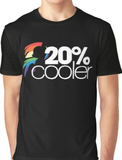 20% Cooler! (ALL options) - BLACK Graphic T-Shirt