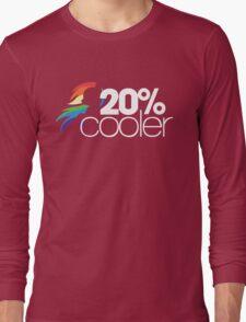 20% Cooler! (ALL options) - BLACK Long Sleeve T-Shirt