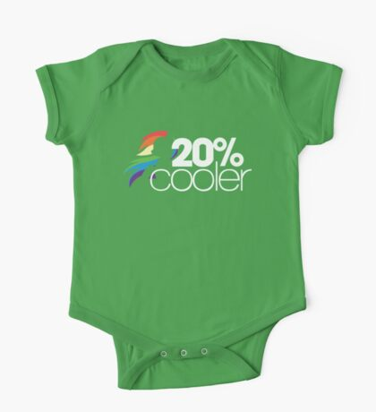20% Cooler! (ALL options) - BLACK One Piece - Short Sleeve