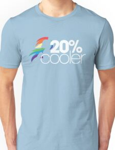 20% Cooler! (ALL options) - BLACK Unisex T-Shirt