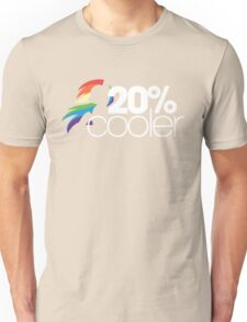 20% Cooler! (ALL options) - BLACK Unisex T-Shirt