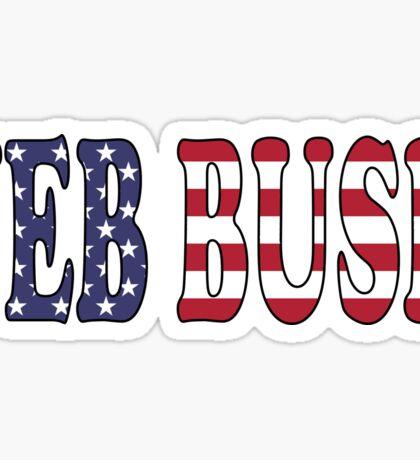 Jeb Bush - President Election Republican Sticker Decal Support Sticker