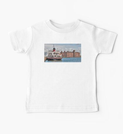 Royal Daffodil and East Float Mill Baby Tee