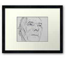 Man With Blue Eyes Framed Print
