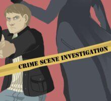 Crime scene investigation round 2 Sticker