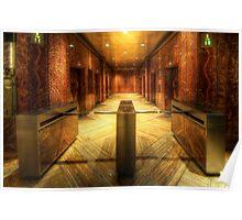 Chrysler Building Elevator Lobby Poster