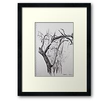 Structure and Depth Framed Print
