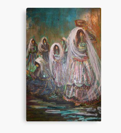 Traditional Wedding Canvas Print