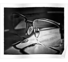 Natural Light - Glasses Poster