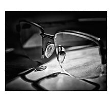 Natural Light - Glasses Photographic Print