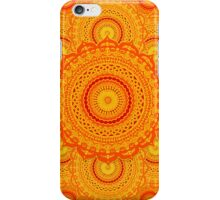 omulyana dancing mandala iPhone Case/Skin