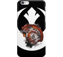 Born To Rebel - Star Wars Rebel Alliance Logo iPhone Case/Skin