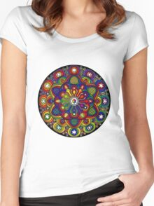 Mandala 42 T-Shirts & Hoodies Women's Fitted Scoop T-Shirt