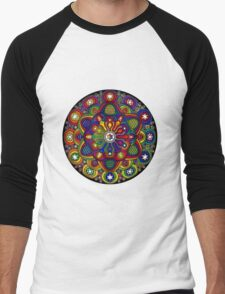 Mandala 42 T-Shirts & Hoodies Men's Baseball ¾ T-Shirt