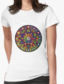 Mandala 42 T-Shirts & Hoodies Womens Fitted T-Shirt