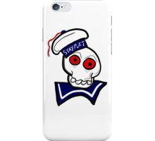 STAY PUFT SKULL iPhone Case/Skin