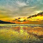 Sunset In Karon Beach by Giovanni Costa