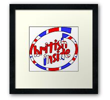 British Inside Framed Print
