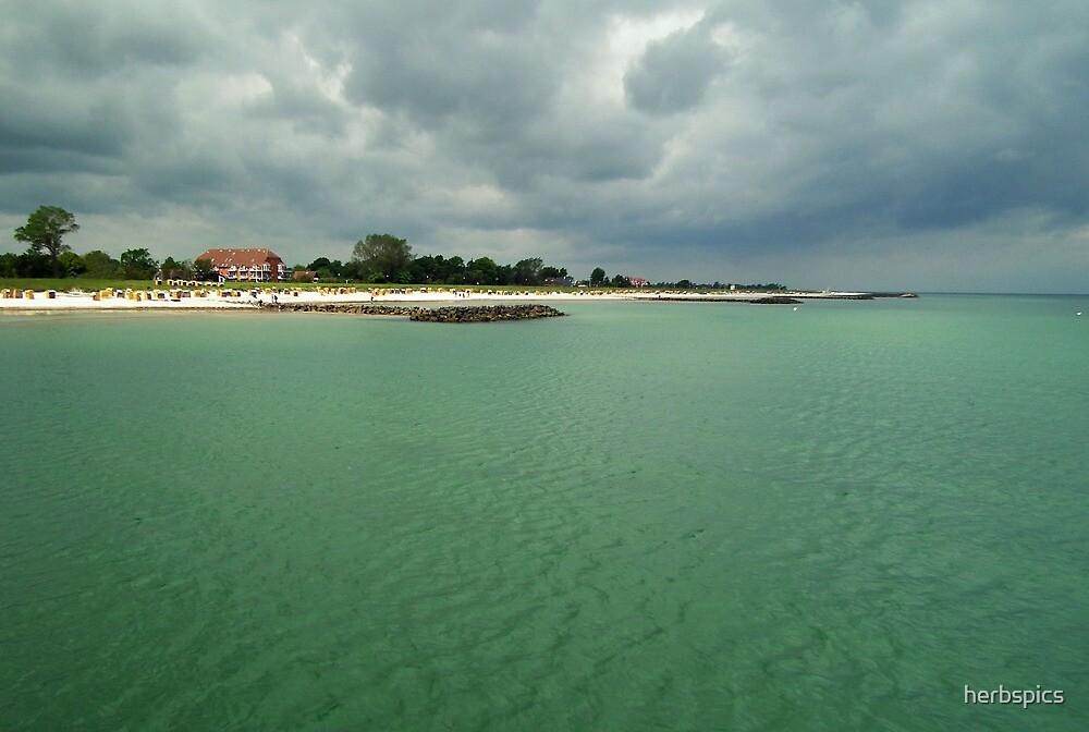 Quiet Beach by herbspics