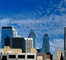 Philly Skyline by cclaude