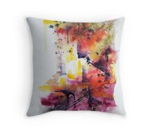 Maniba, featured in Group-Gallery of Art and Photography, Painters Universe, The Best of Redbubble, Abstract Surreal Art Throw Pillow