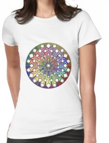 Mandala 38 T-Shirts & Hoodies Womens Fitted T-Shirt