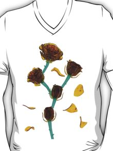 Amber Roses in Bloom T-Shirt