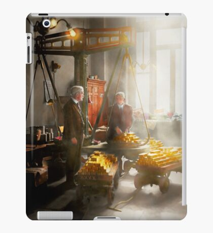 Banker - Worth its weight in gold iPad Case/Skin