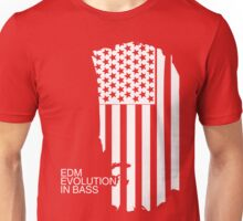 Evolution In Bass (white) Unisex T-Shirt