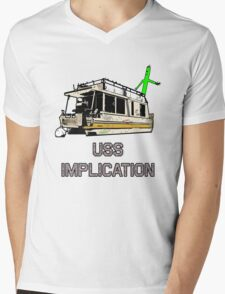 USS Implication Mens V-Neck T-Shirt