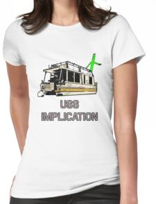 USS Implication Womens Fitted T-Shirt