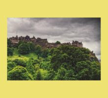 Gathering Storm over Edinburgh Castle Kids Tee