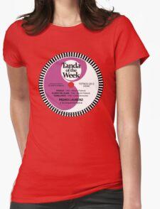 TOTW23/2012 - Laurenz - valses - TK - Purple Womens Fitted T-Shirt