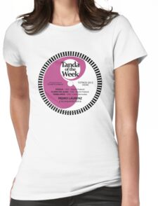 TOTW23/2012 - Laurenz - valses - TK - Purple Womens Fitted T-Shirt