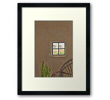 Rustic Wall Framed Print