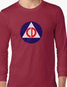 Civil Defence Long Sleeve T-Shirt