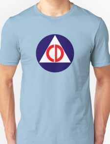 Civil Defence Unisex T-Shirt