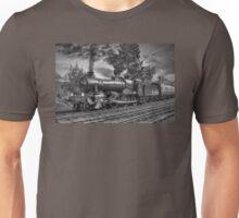 GWR Bradley Manor - Black and White Unisex T-Shirt
