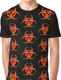 Biological Hazard - red/orange Graphic T-Shirt