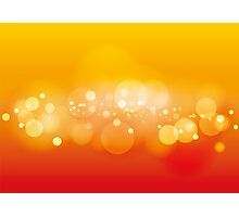 Lights, vector background Photographic Print
