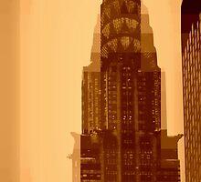 Chrysler Building - Pixels by Amanda Vontobel Photography