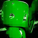 Green Vespa - Pixels by Amanda Vontobel Photography