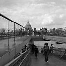 Millennium bridge  by Aaron  Wahab