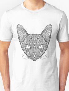 Devon Rex Cat - Complicated Coloring T-Shirt