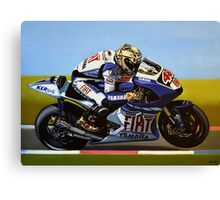 Jorge Lorenzo Painting Canvas Print