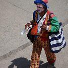 The Lonely Clown - El Payaso Solitario by Bernhard Matejka