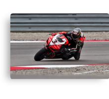 MAX BIAGGI at Miller Motorsports park 2012 Canvas Print