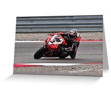 MAX BIAGGI at Miller Motorsports park 2012 Greeting Card